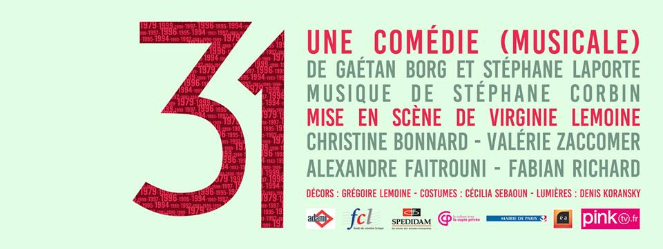 31 comedie musicale