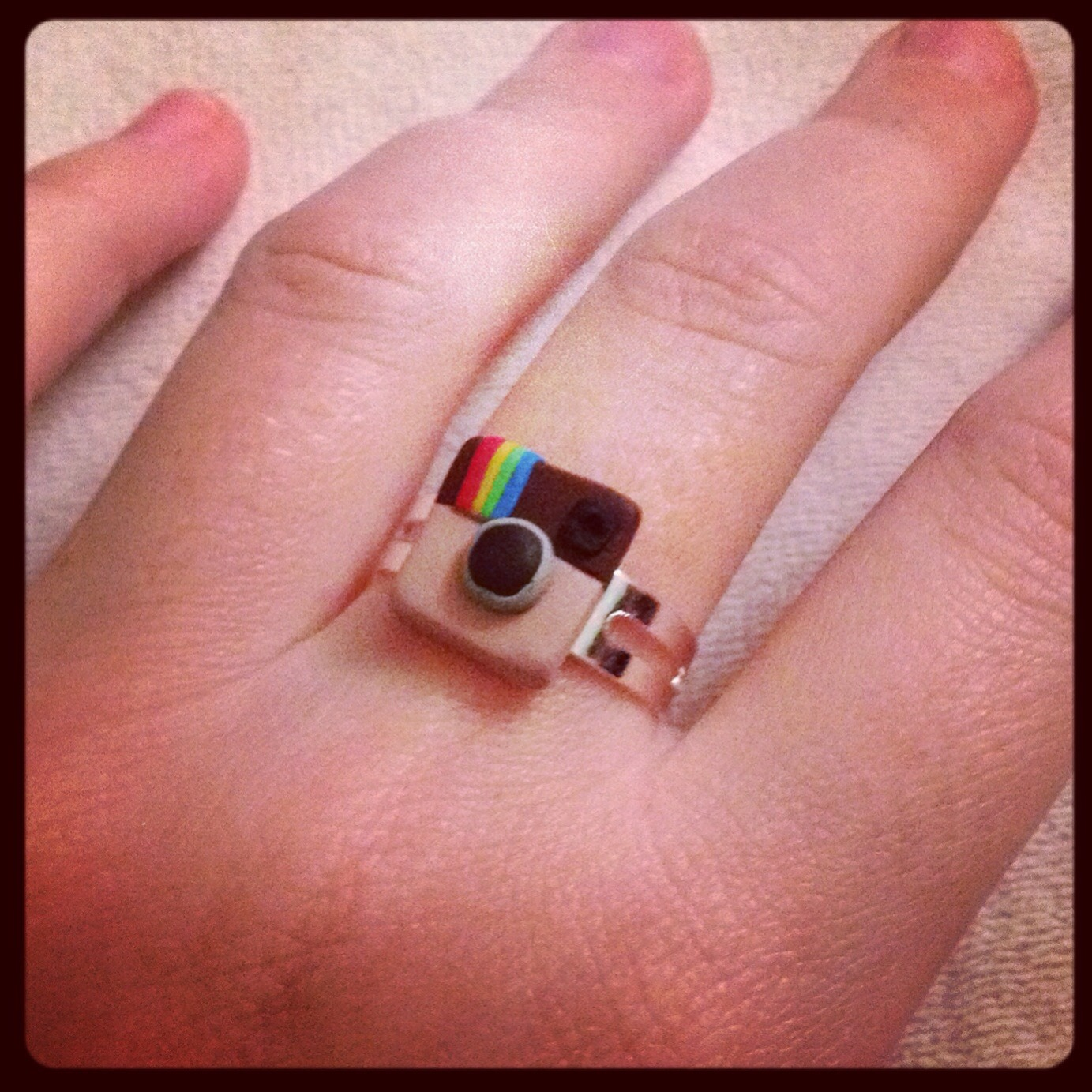 Bague collection geek icone instagram