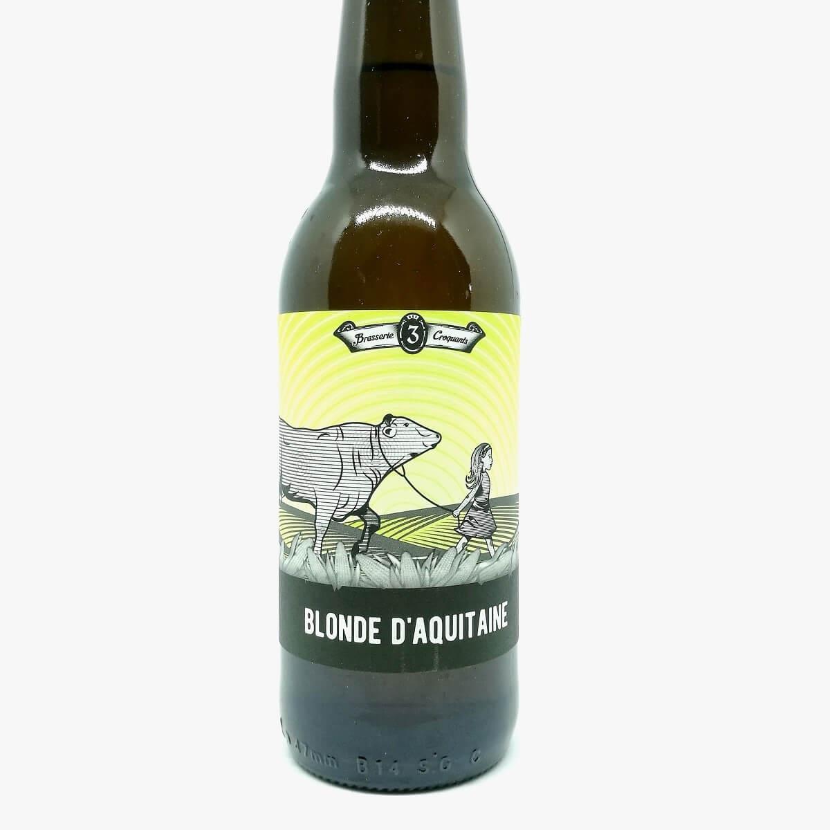 Biere blonde aquitaine