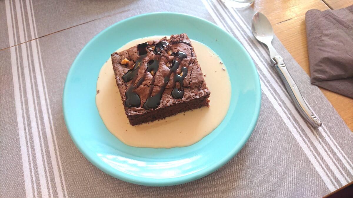 Brownie chez Miam's