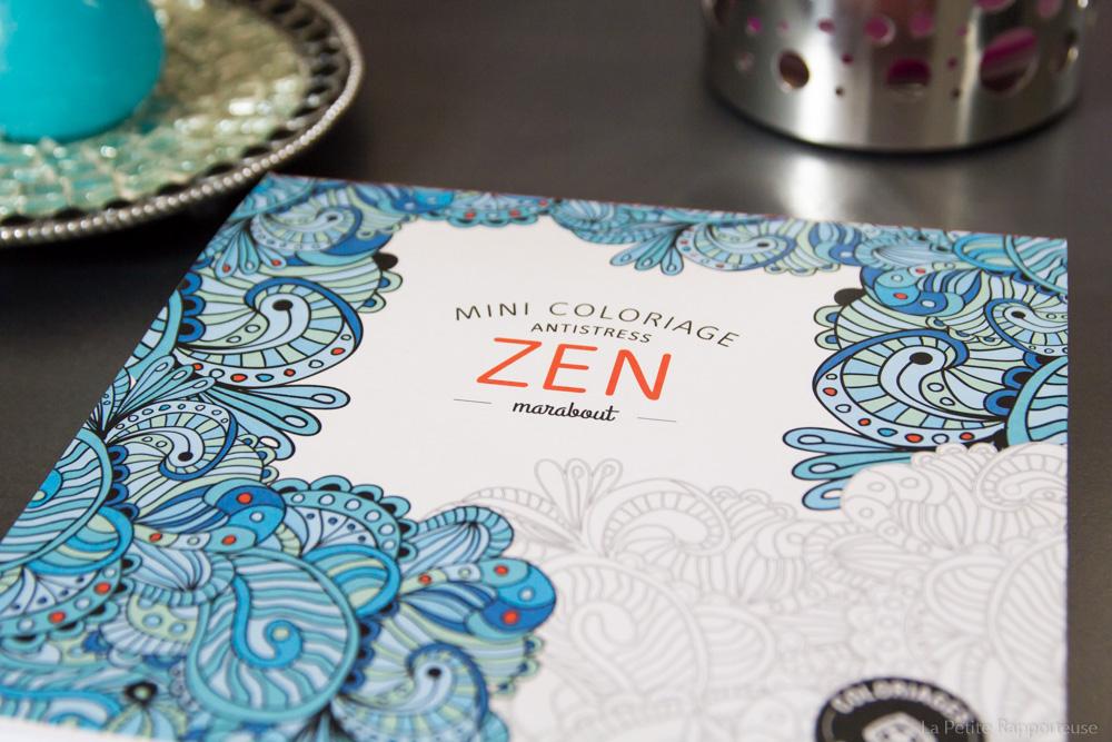 Cahier marabout zen