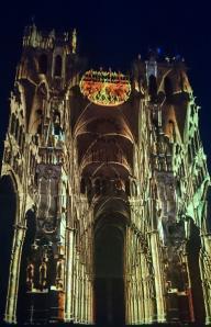 Chroma impression intérieur de la cathédrale