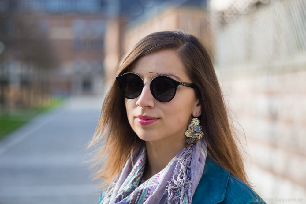 Essai lunettes de soleil visionet