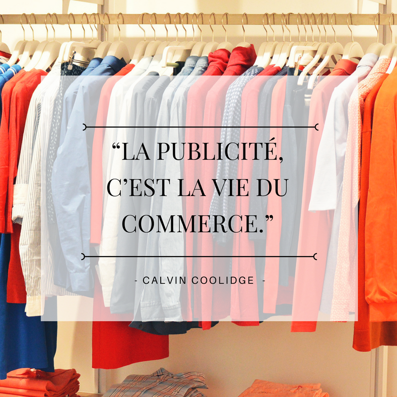 Citation e-commerce avec Canva