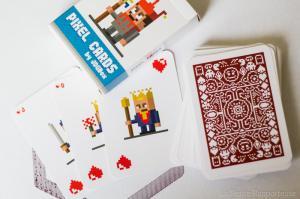 Jeu de cartes à jouer Pixel
