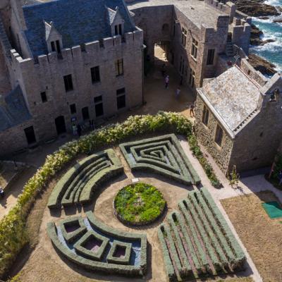 Jardin Fort la Latte