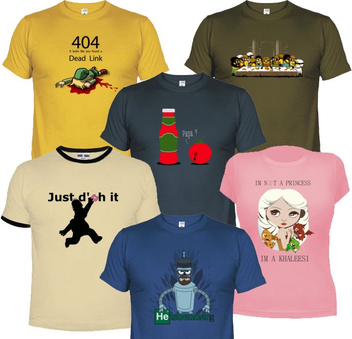 Ma sélection de tee-shirt