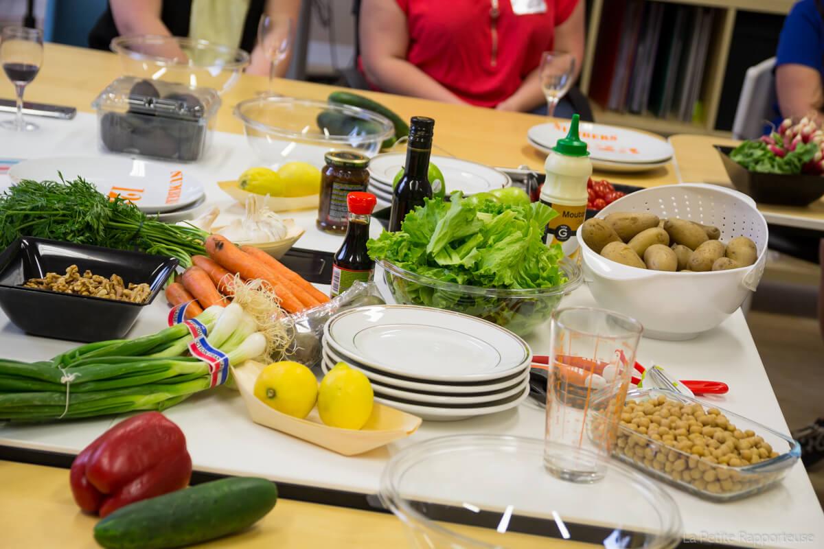 Table Vegan La Coloc