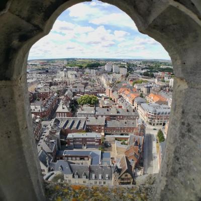 Tour gauche  - Cathédrale Amiens