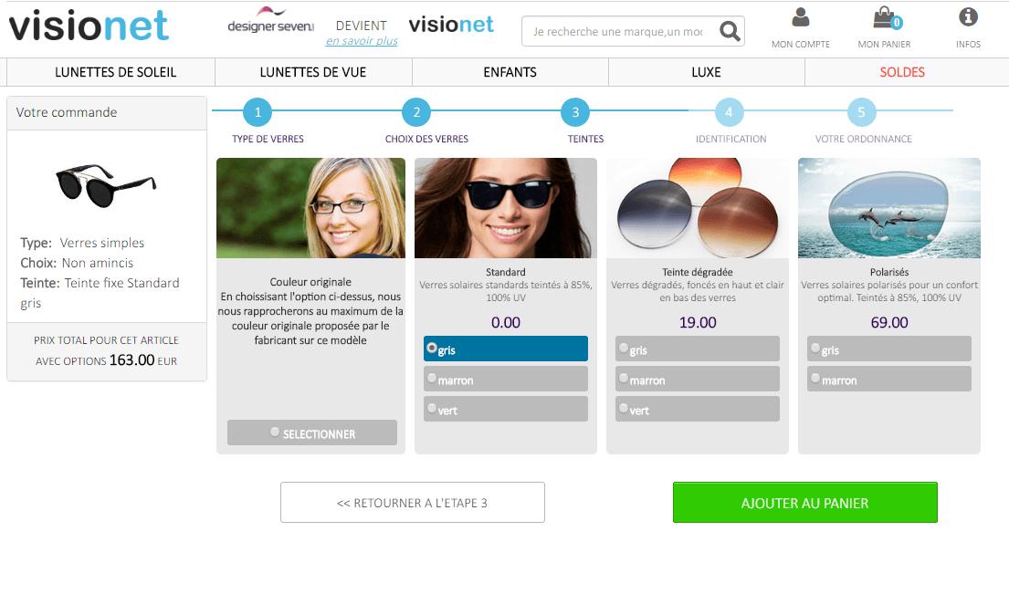 de53c8a814eac Avis sur Visionet après la commande de lunettes à ma vue