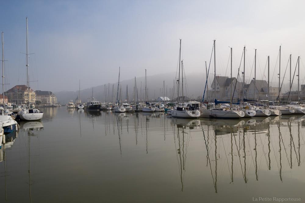 Le port de Dives sur Mer