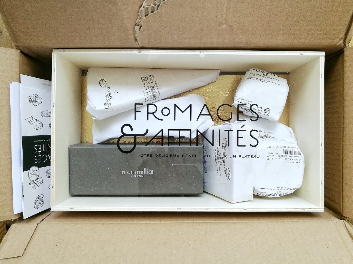 Box fromages et affinites