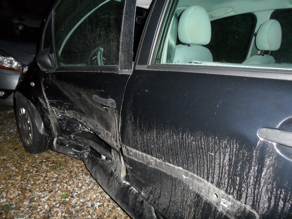 C3 après l'accident