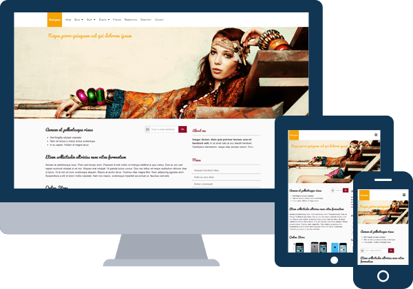 Creer un site responsive emonsite