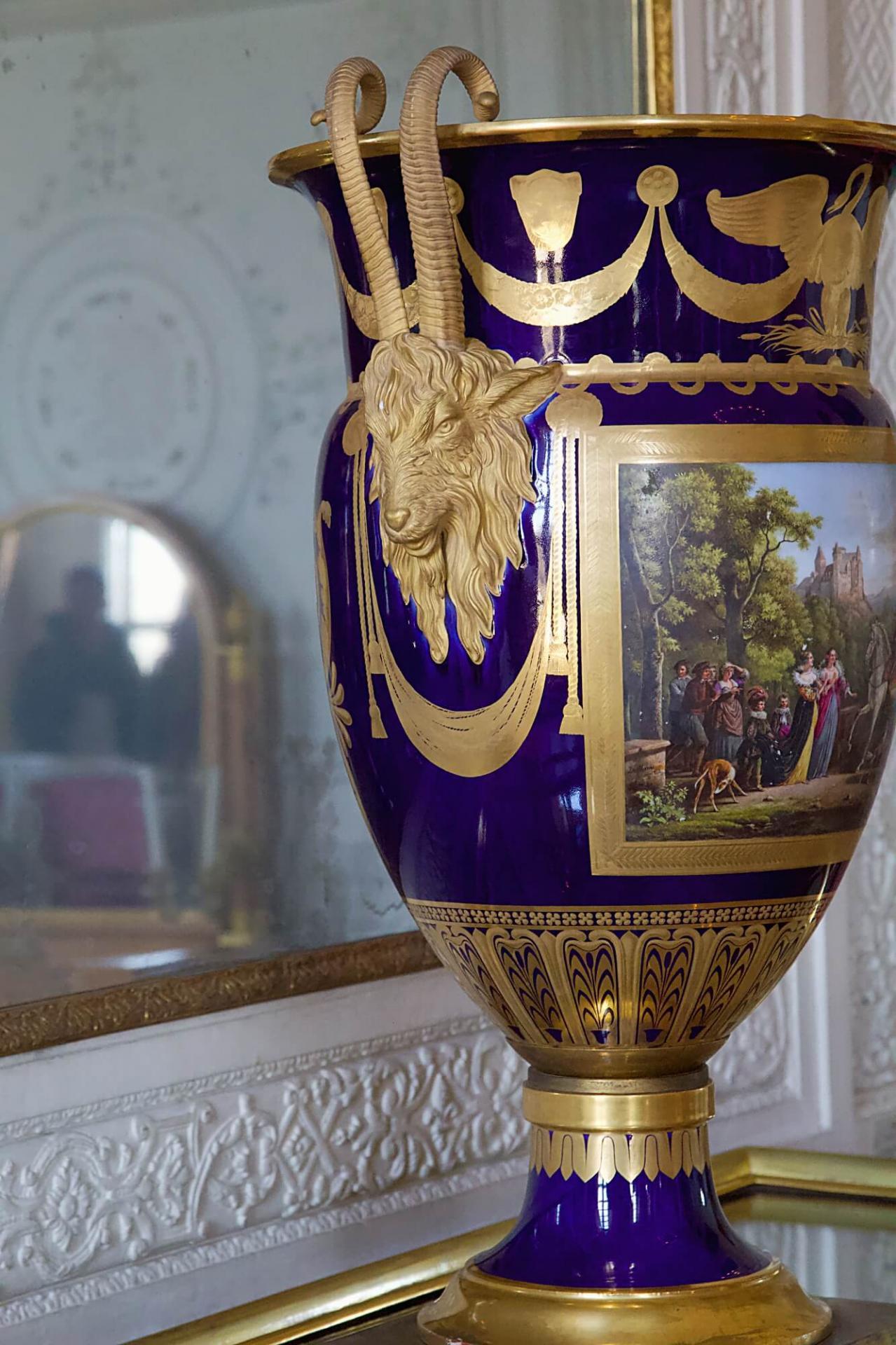 Dorure vase