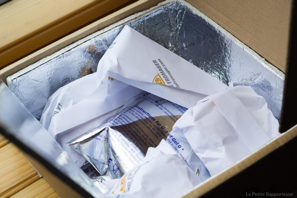 Emballage fraicheur