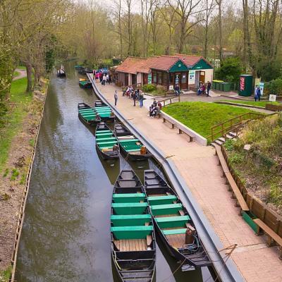 Embarquement des hortillonages à Amiens