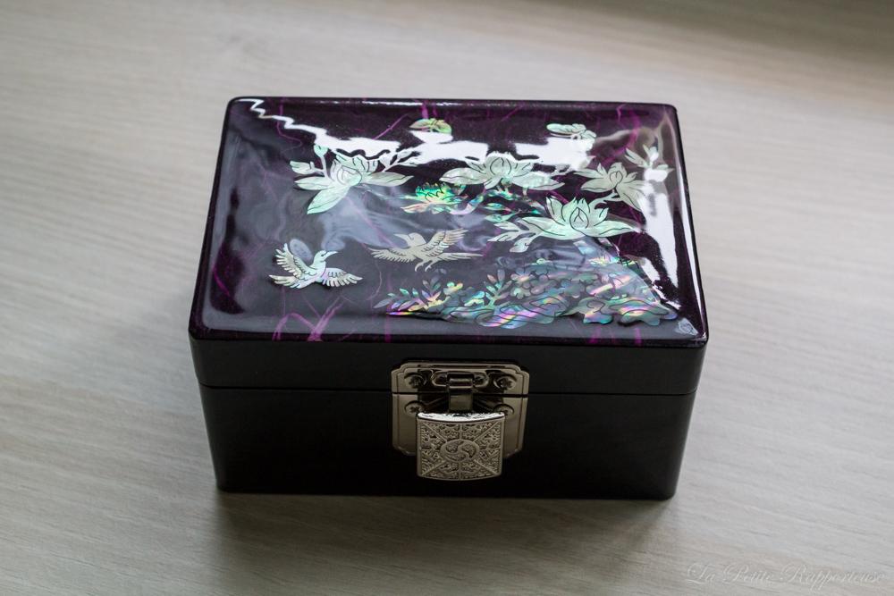 Boîte à bijoux Trésors de Corée