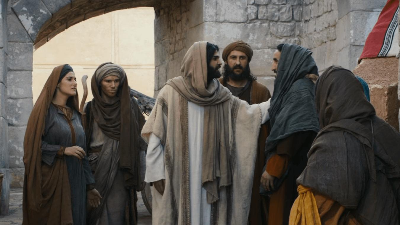 Jesus casting