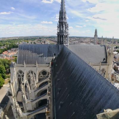 Vue 66 mètres - Cathédrale Amiens